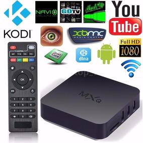 Tv Box Mxq 4k Canais Liberados Por 30,00** Leilão