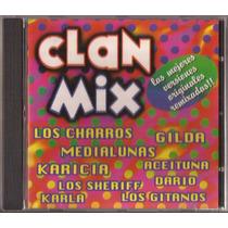 Clan Mix Cd Gilda Charros Karicia Karla Medialunas Cumbia