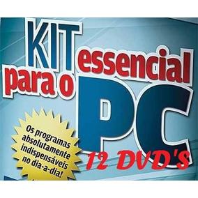 Kit 12dvds P/ Formatação Profissional, Sistemas E Programas.