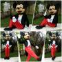 Mickey ,completo ! Fantasia , Mascote,boneco Vivo