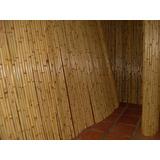 Painel De Bambu Tratado/cana Da Índia Forros Ou Paredes