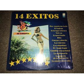 Disco Acetato: Los 8 De Colombia