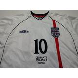 Camisa Inglaterra Umbro 2001 - Camisas de Futebol no Mercado Livre ... a50125f8ae914
