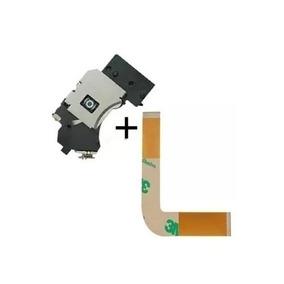 Kit Leitor Óptico Lente + Cabo Flat L Playstation 2 Slim Ps2