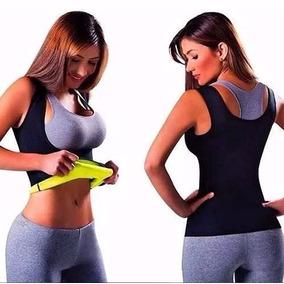 Camiseta Modeladora Hot Redu Shaper Reduz Medidas Feminina