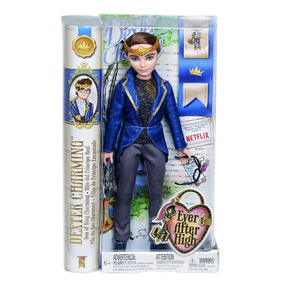Boneco Mattel Ever After High Royal Dexter Charming Bjh09