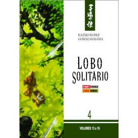 Box, Caixa, Para Lobo Solitário Vol.13 A 16 (panini)