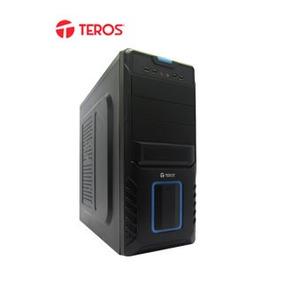 Te Case Teros Te-v13, Mid Tower, Atx 600w, Sata, Usb 2.0, Au