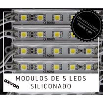 Módulos De 6 Leds 5050 Siliconado Ip 65