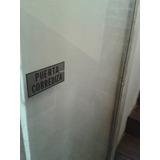 Puerta Corrediza Vidriada Para Negocio