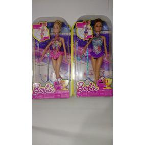 Boneca Barbie Ribbon Gymnast (ginástica Olímpica )de 2015)
