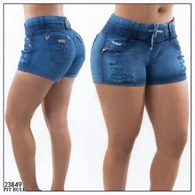 Kit Com 2 Short Jeans Pitbull Rhero Original