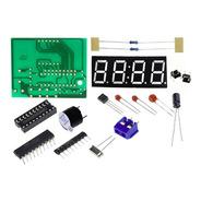 Kit Reloj Electrónico C51 De Alta Calidad De 4 Bits