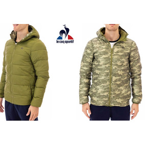 Campera Le Coq Sportif Reversible Jacket M -military Gr