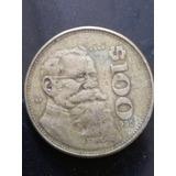 Moneda 100 Pesos Venustiano Carranza 1990