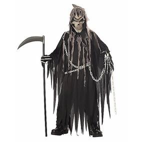 Disfraz Niño Muerte Dia De Muerto Traje Calavera Halloween