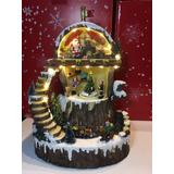 Adorno Decoración Navidad En Cerámica Grande