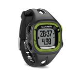 Relógio Gps Garmin Forerunner 15 Monitorcardiaco Verde/preto
