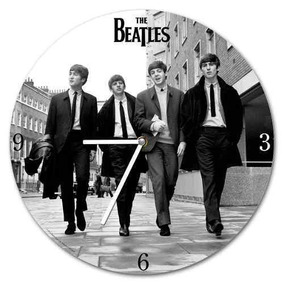 Reloj De Pared Sin Cuerda De Madera Vandor 53267 The Beatles