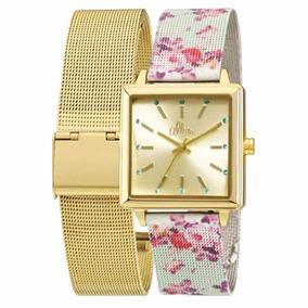 Relógio Allora Feminino Al2035fac/k4d - Troca Pulseira Nfe