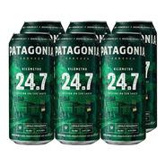 Patagonia 24.7 . Cerveza . 473ml X 6 - Tomate Algo® -
