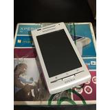 Celular Sony X8 Branco /wi-fi 3g Android Novo
