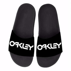 Chinelo Slide Oakley Marca Top Beach Feminino E Masculino