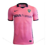 Camiseta Boca Alternativa Rosa 2014