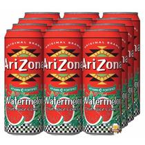 Arizona Watermelon Suco De Melancia - Kit 12 Unidades 340ml