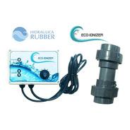 Ionizador Para Piscina Eco-ionizer 120m3 Hidraulica Rubber
