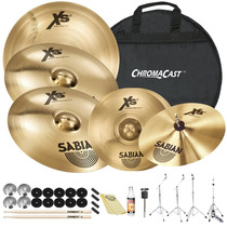 Kit De Pratos Sabian Xs20