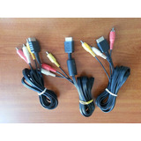 Cable Av Original Playstation 1 Y 2 Ps1 Ps2 Y Ps3