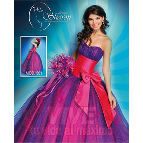 Vestido Xv Años Original Diseños Sharon