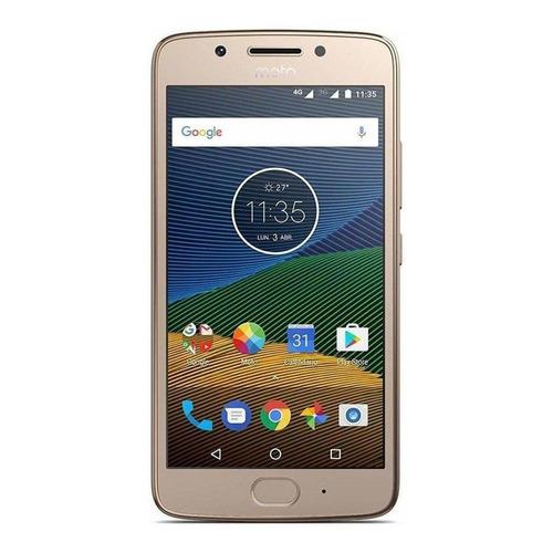 Motorola Moto G G5 Dual SIM 16 GB Ouro-fino 3 GB RAM