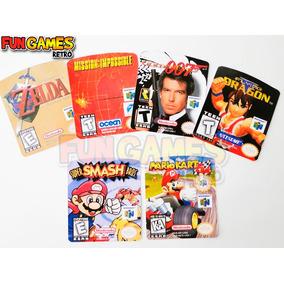Label Cartuchos Nintendo 64 - Não Achou , Nós Desenvolvemos!