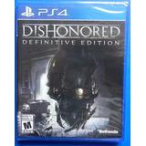 Dishonored Ps4 - Nuevo Y Sellado