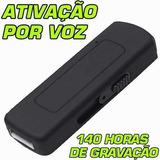 Acessorio De Espionagem Gravador Voz Com Sensor Presenca Bb1