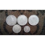 Set De Monedas Mexicanas Antiguas De 1932 A 1953 $ A Tratar