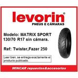 Cubierta Levorin (twister-fz250-rouser)130/70 R17 S/c