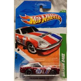 2011 Hot Wheels Super Cazadores De Tesoros Datsun 240z 12/1