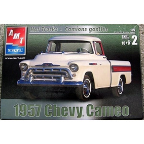 Amt Ertl 1/25 - 1957 Chevy Cameo New Model Truck Kit