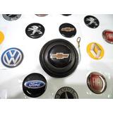 Pulsador De Bocina Con Logo Fiat Renalt Chevrolet Vw Ford