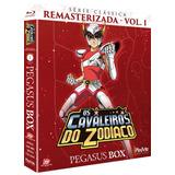 Blu-ray Os Cavaleiros Do Zodíaco - Série Clássica - Volum