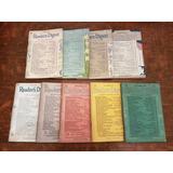 Lote Selecciones Readers Digest 1942-1943 Edición En Inglés