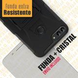 Funda Huawei P Smart Protector Rudo + Cristal Fig-l03 / Lx3