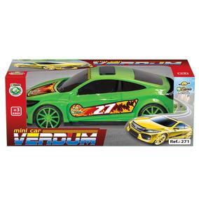 Mini Car Verdum Na Caixa 271 - Bs Toys