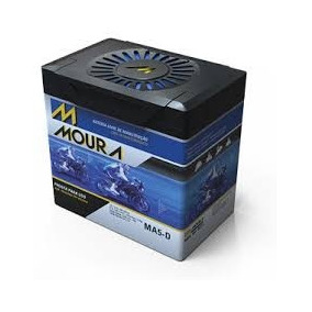 Bateria Moto Moura Ma5-d + Relação Honda Nx Bros 150
