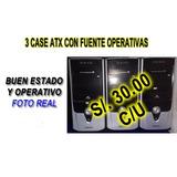 3 Case Atx Con Fuente (operativas)
