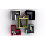 Cubo Biblioteca Decorativa Modular Moderna Minimalista