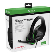 Diadema Kingston Hx Cloud Stinger Xbox Negro/verde C/mic 3.5